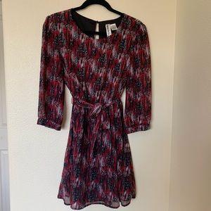 Mimi Chica Long Sleeve Mini Dress